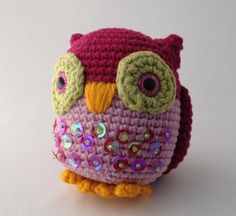 Hey, I found this really awesome Etsy listing at https://www.etsy.com/listing/110070500/owl-amigurumi-pink