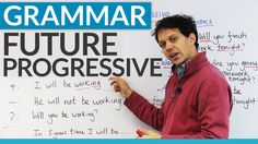 Learn to make plans with the FUTURE PROGRESSIVE tense -         Repinned by Chesapeake College Adult Ed. We offer free classes on the Eastern Shore of MD to help you earn your GED - H.S. Diploma or Learn English (ESL) .   For GED classes contact Danielle Thomas 410-829-6043 dthomas@chesapeke.edu  For ESL classes contact Karen Luceti - 410-443-1163  Kluceti@chesapeake.edu .  www.chesapeake.edu