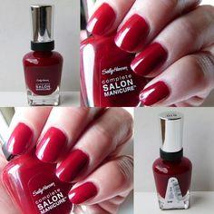 Und noch ein paar Bilder zu meinem Sally Hansen Nagellack Red Zin http://infarbe.blogspot.de/2014/10/notd-sally-hansen-nagellack-red-zin-610.html