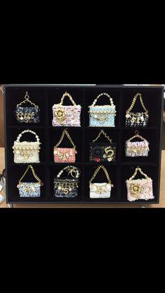 Handmade bag charms