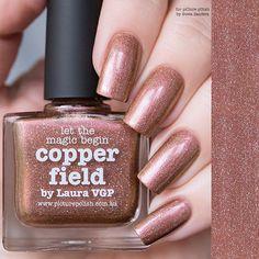 Let the magic begin... #picturepolish 'copper field' 📸@sveta_sanders shop : link in bio
