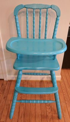 Wooden Jenny Lind Vintage Antique Style High Chair Wood Highchair Jennylind  | Baby, Feeding,