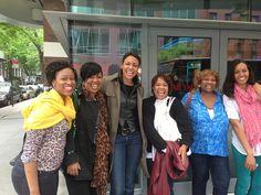 YWCA Staff and volunteers at screening of #GirlRising in Brooklyn #empoweringwomen #empoweringgirls