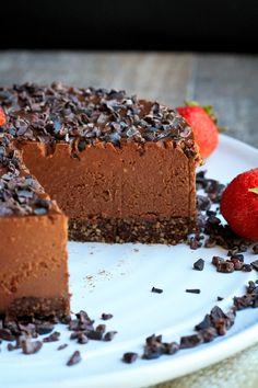 Ultimate Raw Cookie Dough Chocolate Fudge Cake