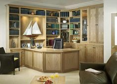 Natural-Oak-Classic-Study