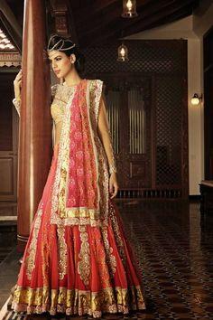 Lengha by Nivedita Saboo #lehenga #choli #indian #shaadi #bridal #fashion #style #desi #designer #blouse #wedding #gorgeous #beautiful