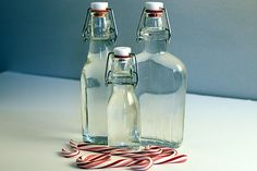 homemade peppermint vodka! yes the xmas holiday is here! :)