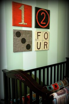 wall hanging.  cool for boys bedroom