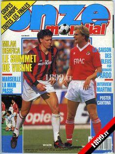 Revista Onze, 1990 - Antecipação da final da Taça dos Campeões Europeus...