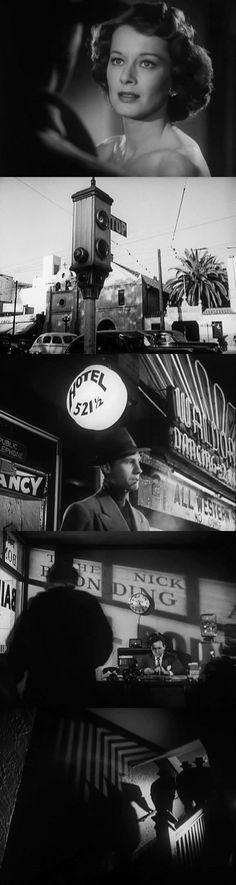 The Crooked Way - Robert Florey - 1949 - classic film noir images - director of photography John Alton