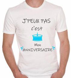 Drôle Slogan T-shirts Homme Nouveauté graphique cadeaux d/'anniversaire cadeaux pour lui son