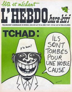 L'Hebdo Hara-Kiri - N° 90 - Lundi 19 Octobre 1970 - Couverture de Wolinski