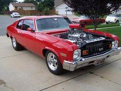 1974 nova ss | 1974 blown ss nova 1974 chevy nova ss owned by larry tammy prisco ...