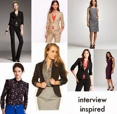 Inspired ladies interview outfits ever <3