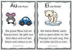 Buchstabengeschichten von A bis Z (mit Zwielauten Ei, Eu, Au, Sch, St, Sp)