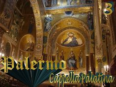 """The famous French writer Guy de Maupassant called the Cappella Palatina """"the most beautiful in the world, the most surprising religious jewel ever dreamt of by man"""". Palatine Chapel, Wooden Ceilings, Famous French, Place Of Worship, Byzantine, Cairo, Palermo, Jewel, Most Beautiful"""