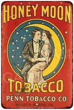 Honey Moon Tobacco Vintage Look Reproduction Metal Sign 8 x 12 8120270