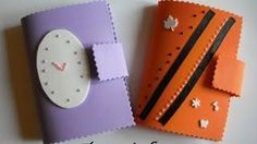 agenda en foamy Foam Crafts, Paper Crafts, Diy Crafts, Diy For Kids, Crafts For Kids, Arts And Crafts, Eva Youtube, Diy Agenda, Diy Gift Box