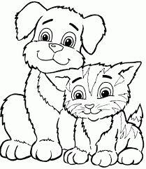 Résultats de recherche d'images pour «dessin chat imprimer gratuit»