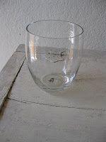 juice glass into mini cloche