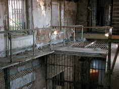 jail cell.