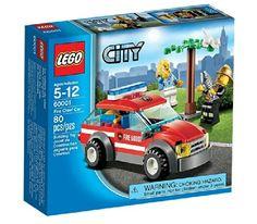 Lego City - 60001 - Jeu de Construction - La Voiture du Chef des Pompiers: Amazon.fr: Jeux et Jouets