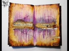 'Find me again'... art journaling, Journal on Monday week 113