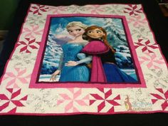 Two Frozen quilt & One Super Hero Quilt - Joey's Quilting Co.