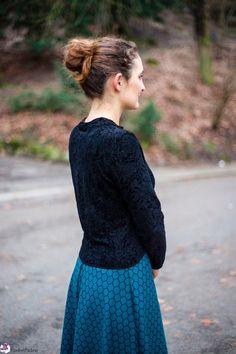 Genäht - Kleid im Vintage-Stil