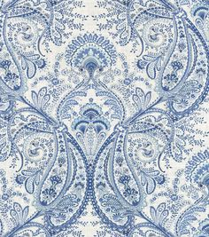 Home Decor Print Fabric- Swavelle Millcreek Melodie Cliffside Frost