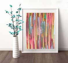 #Abstract #Art #Rainbow #Painting #Pastel 3Colors #AbstractArt #Rainbow #Pastel #AbstractPrint #PrintableWallArt #INSTANTDOWNLOAD #Printable #Watercolor #AbstractPainting #Nursery #Decor #A4 #Print