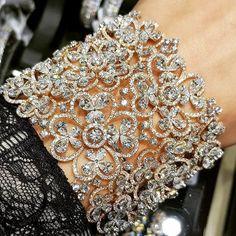 #Diamond #Cuff #Bracelet #Jewellery