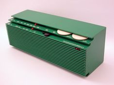 The Italian company Radio Marelli established in Milan in 1929 launched the RD 330 radio sometime between the end of the and the b - Radio - Ideas of Radio Radios, Retro Design, Vintage Designs, Packaging Design, Branding Design, Radio Antigua, Audio Design, Transistor Radio, Speakers