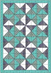 Big dipper quilt pattern and tutorial from Ludlow Quilt and Sew