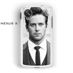 Armie Hammer Wallpaper for Nexus 4/Nexus 5 phonecases