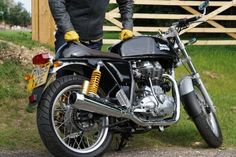Go Thump Yourself: The Royal Enfield Continental GT Is A Time Warp To '60s Awesomeness