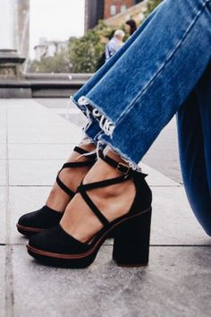 Complete your outfit with a pair of Free People's fashion forward heels including ankle strap heels, platform shoes, wedge heels, classy pumps and more. Cute Shoes, Women's Shoes, Me Too Shoes, Shoe Boots, Shoes Style, Fall Shoes, Casual Shoes, Asos Shoes, Pretty Shoes