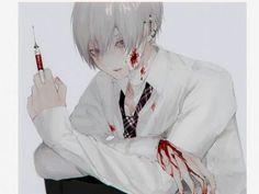 Anime Devil, Sad Anime, Kawaii Anime, Manga Anime, Anime Art, Mini Mundo, Yandere Boy, Neko, Character Inspiration