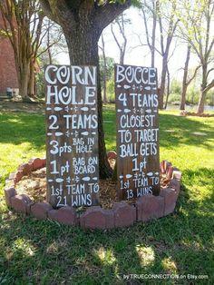 61 Ideas Backyard Bbq Wedding Reception Diy Corn Hole For 2019 Diy Yard Games, Lawn Games, Backyard Games, Backyard Bbq, Outdoor Games, Backyard Ideas, Wedding Backyard, Outdoor Ideas, Diy Wedding Reception