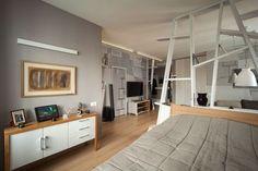 Мужская студия в Санкт-Петербурге, 58 м² – Красивые квартиры