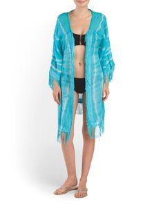En TJMaxx encuentra trajecitos y kimonos lindos para cubrir tu traje baño. #VeranoDePlaya #Sol #TJMaxx #SummerLook