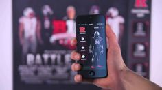 Rutgers Football - Augmented Reality Rutgers A.R. is an app that acts as a gateway to the latest news and interactive content for the University of Rutgers Football team. Fans can point their smartphone devices at printed promotional material distributed by the team to trigger the AR experience. Merchlar helps fans stay in touch with the team they love no matter how far from the field.