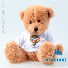 Craig Clan Crest Bear. Free Worldwide Shipping Available