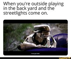 When ou're outside playing in the ack yard and the streetlights come on. Funny Gaming Memes, Super Funny Memes, Gamer Humor, Great Memes, Stupid Funny, Video Games Funny, Funny Games, Halo Funny, Dankest Memes