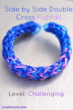 How to Make a Side by Side Double Cross Fishtail
