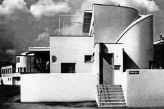 weissenhofsiedlung. 1927.     peter behrens .