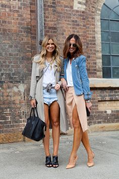 Love this. You can turn any summer clothing into a professional look by adding heels and a jacket