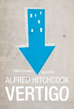 Vertigo Movie Poster.