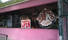 VooDoo Donuts in Portland! Best Donut ever!  I was there, but didn't go in. Man i regret that.