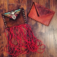 Custom clutches by Rachel Joi of the turquoise teepee
